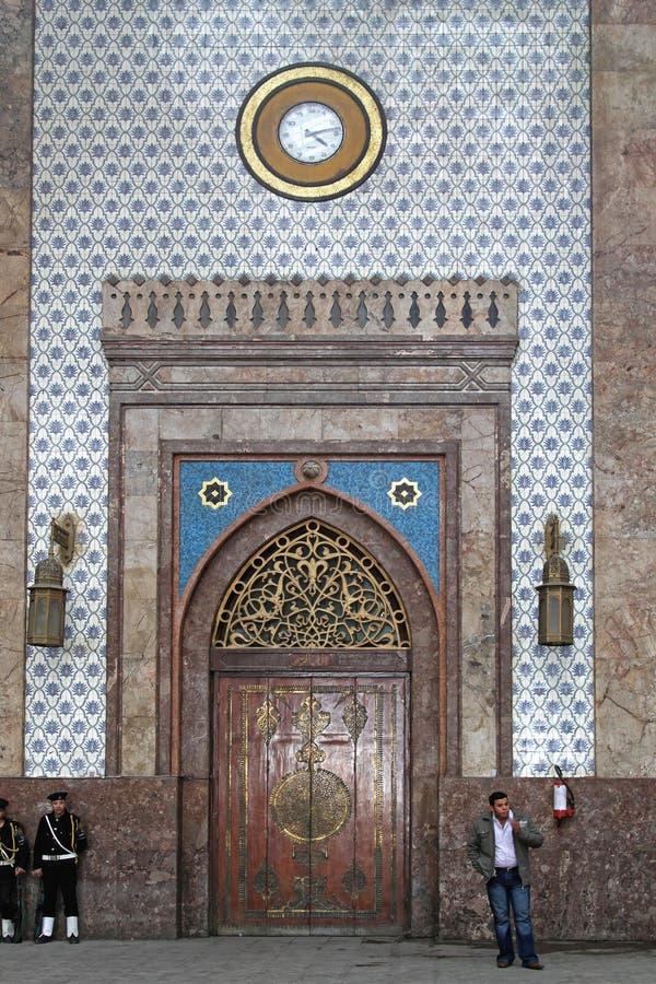 火车站开罗 库存图片