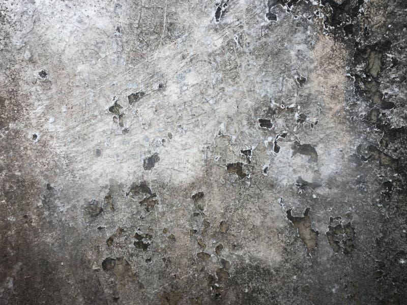 灰色地板水泥纹理 免版税库存图片