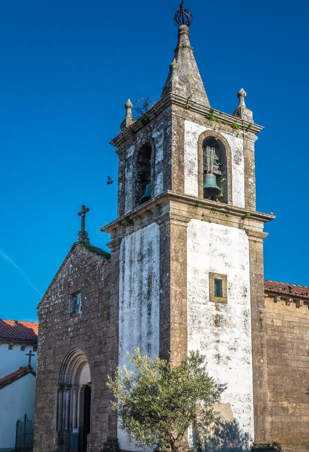 福特莱萨de瓦伦西亚,瓦伦西亚,维亚纳堡区,葡萄牙北部 免版税库存照片