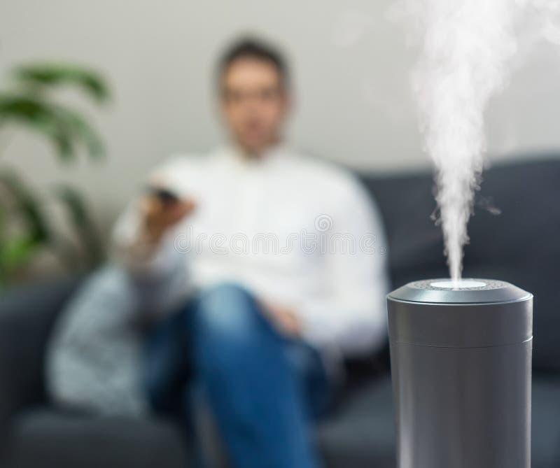 空气润湿器 免版税库存照片