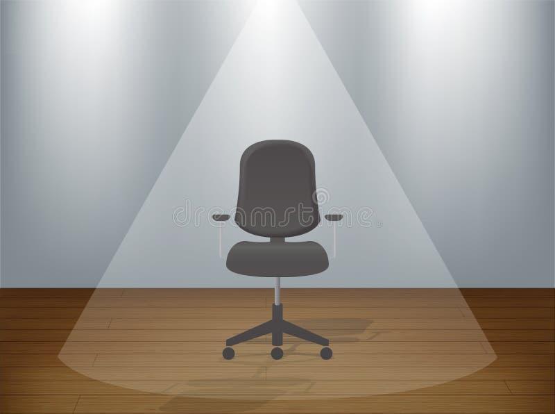 空的椅子 库存例证