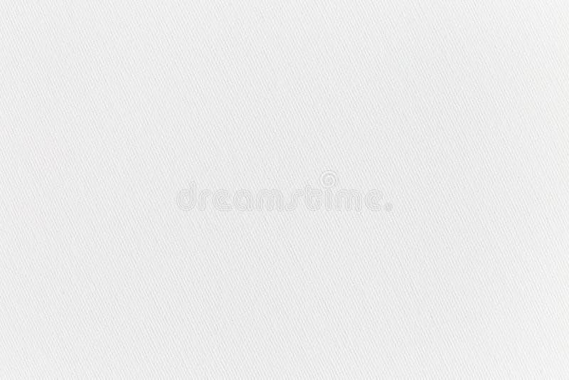 空的白色有肋骨工艺纸背景,拷贝空间,水平 库存例证