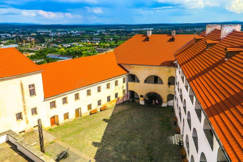穆卡切沃Palanok城堡06 库存图片