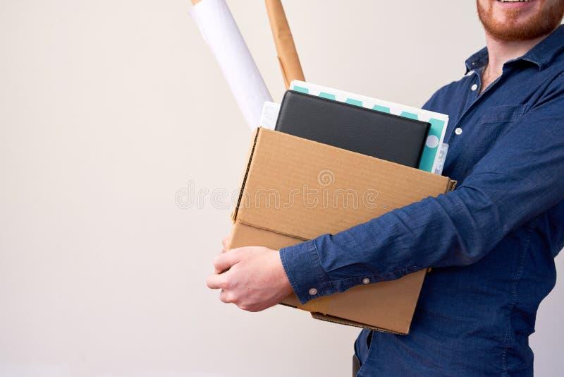 箱子私人物品 免版税库存图片