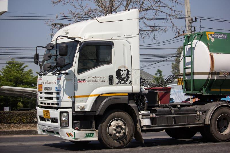 糖浆Thai Molaz Company槽车  库存照片