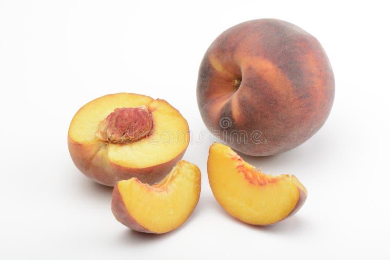 红色桃子 库存照片
