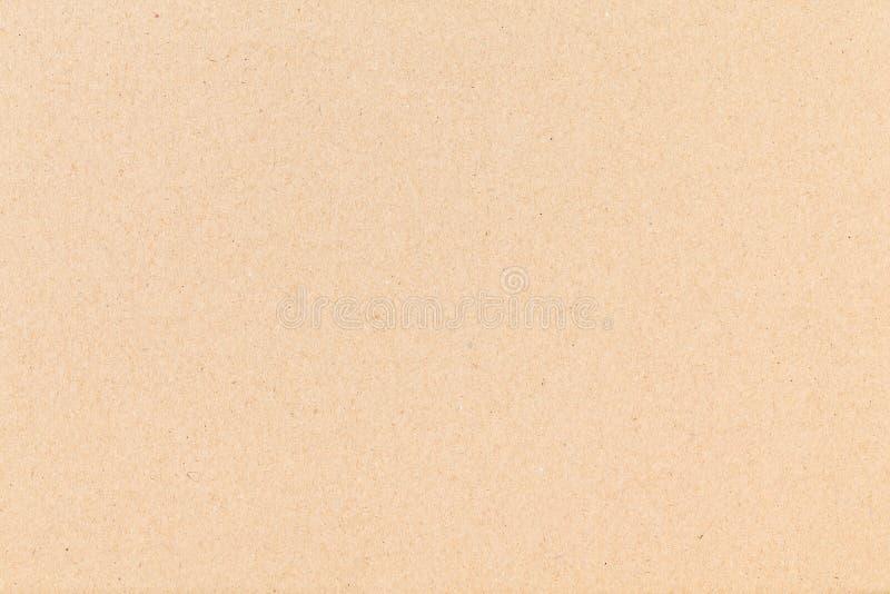 纸片棕色纸板 纹理特写镜头,自然质感粗糙的纸背景 库存图片