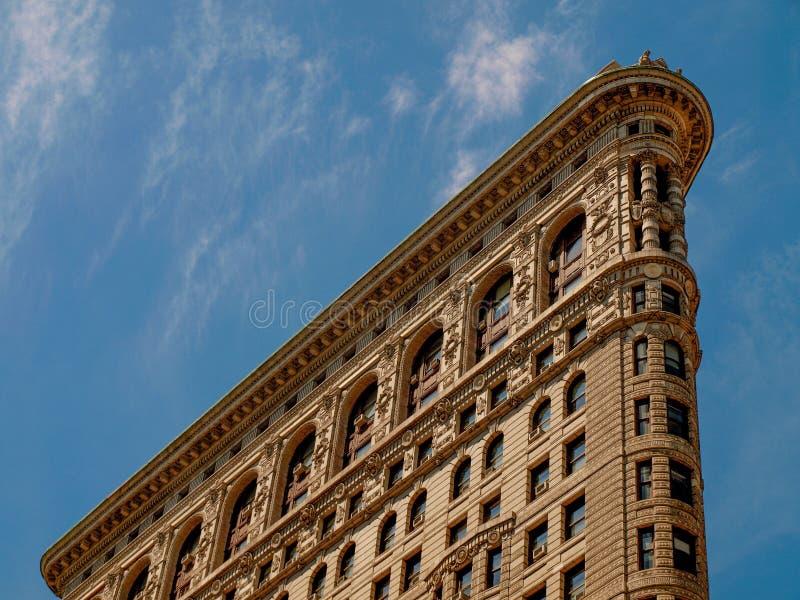 纽约-美国-熨斗大厦上面在纽约 免版税库存图片