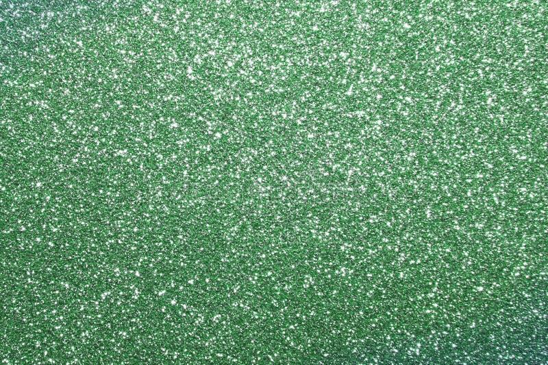 绿色明亮的银色沙子粒状灰泥- torse概念纹理-好的抽象照片背景 库存图片