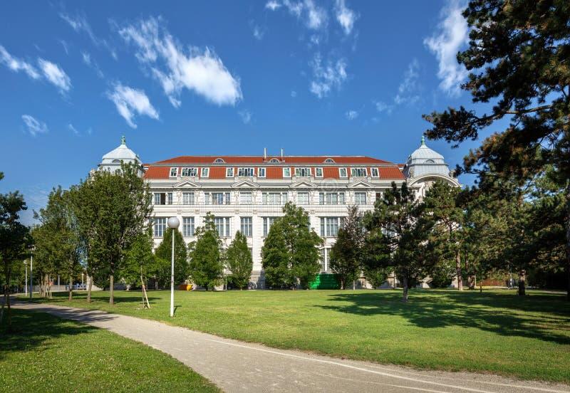 维也纳技术博物馆 维也纳,奥地利,欧洲  免版税库存图片