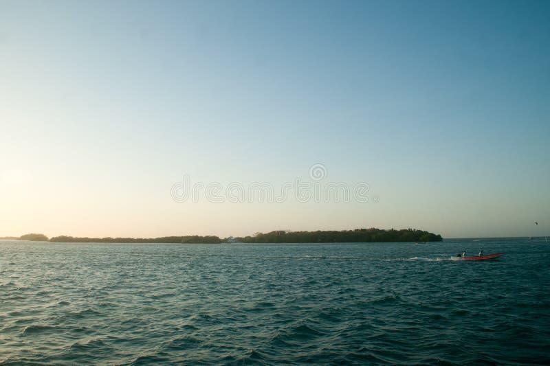 罗萨里奥群岛,哥伦比亚 免版税库存图片