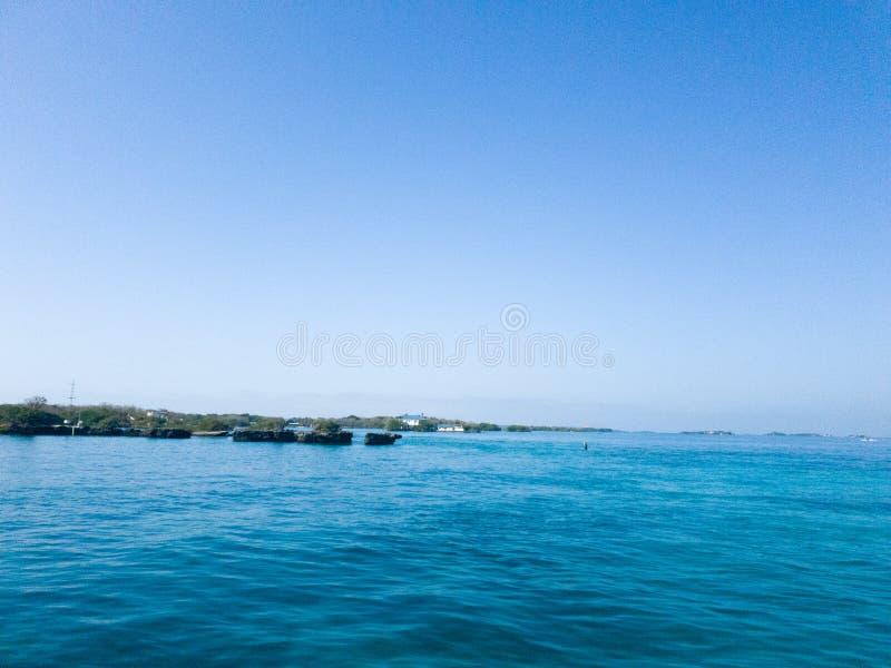 罗萨里奥群岛,哥伦比亚 免版税库存照片