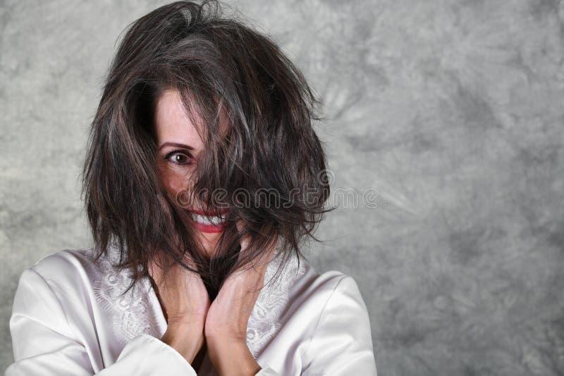 美丽的成熟妇女 图库摄影