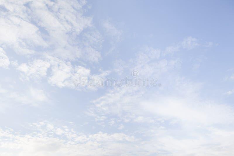 美好的cloudscape 免版税库存图片