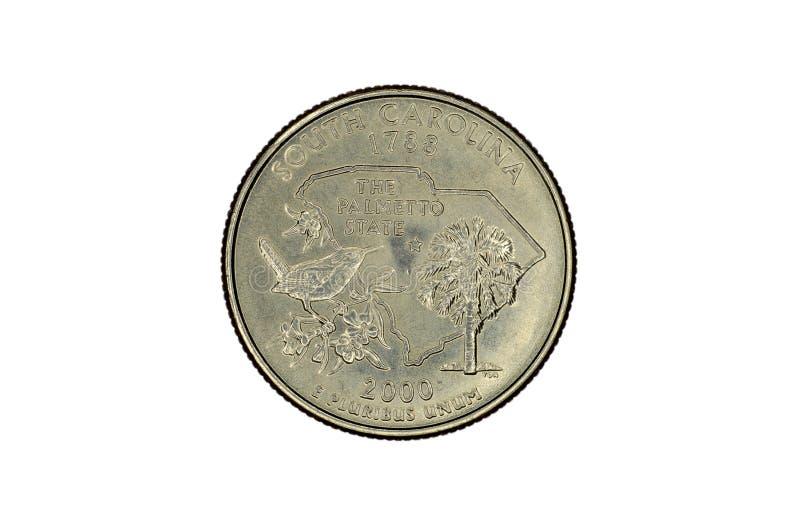 美国纪念硬币 免版税图库摄影