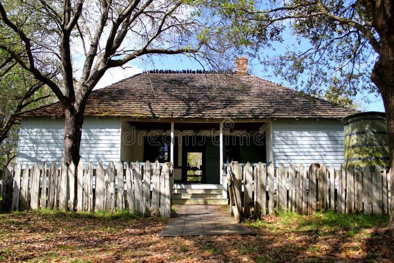 美国的东海岸的美丽的老农厂房子 免版税库存照片
