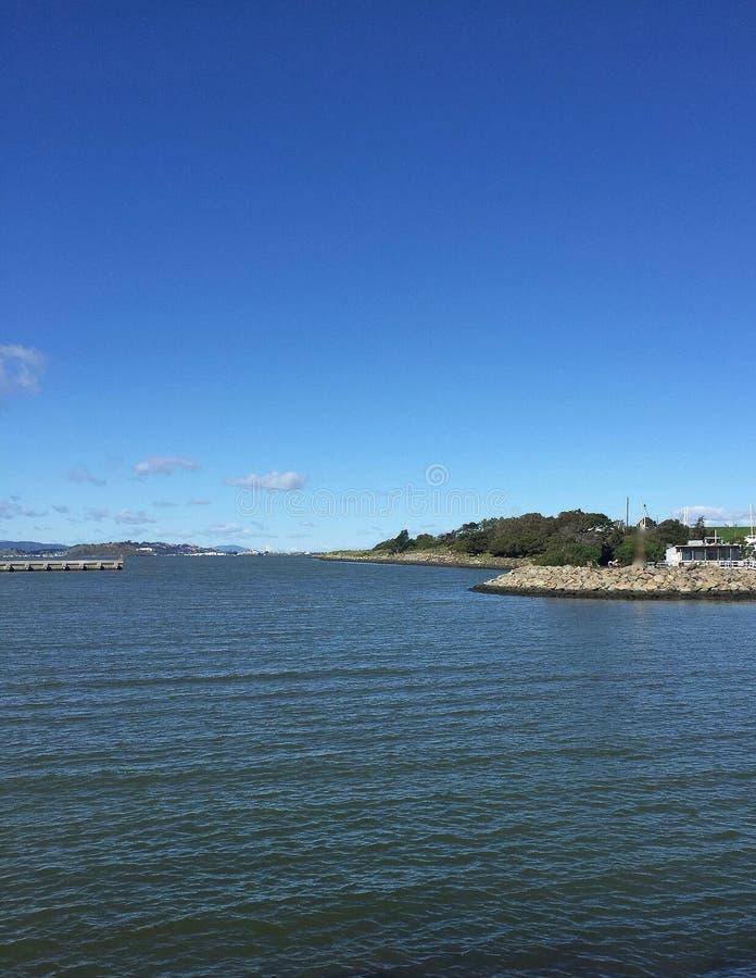 看往东湾的旧金山湾 库存照片