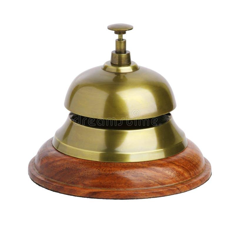 看门人的黄铜响铃 库存图片