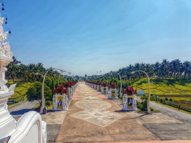 皇家公园Rajapruek 免版税图库摄影