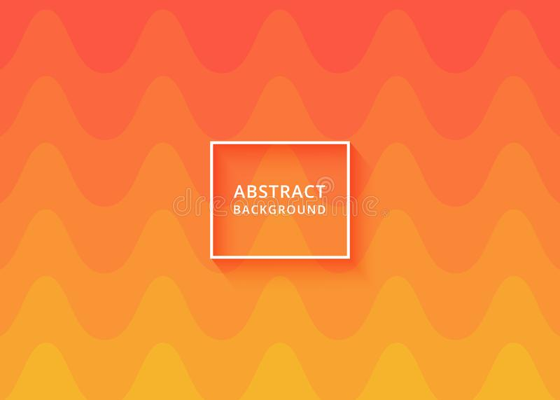 现代抽象波浪背景 背景、背景或者请帖摘要设计 波浪的背景 库存例证
