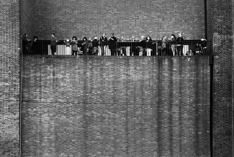 现代的Tate,伦敦 免版税库存照片