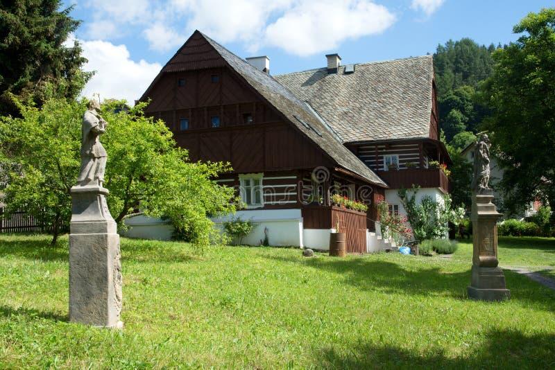 热莱兹尼布罗德,Maloskalsko,捷克共和国 免版税图库摄影