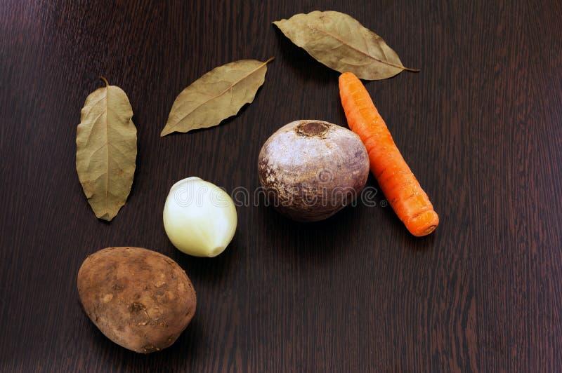 烹调的蔬菜菜肴菜 免版税库存照片