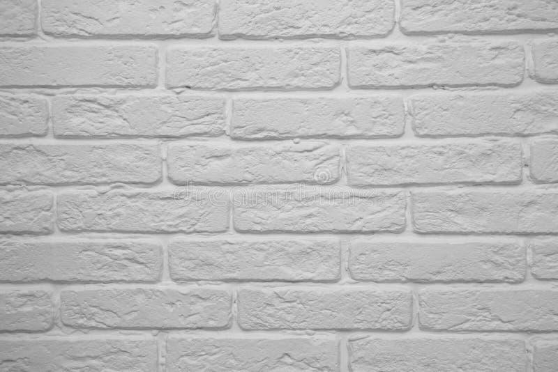 白色砖墙的背景 库存照片