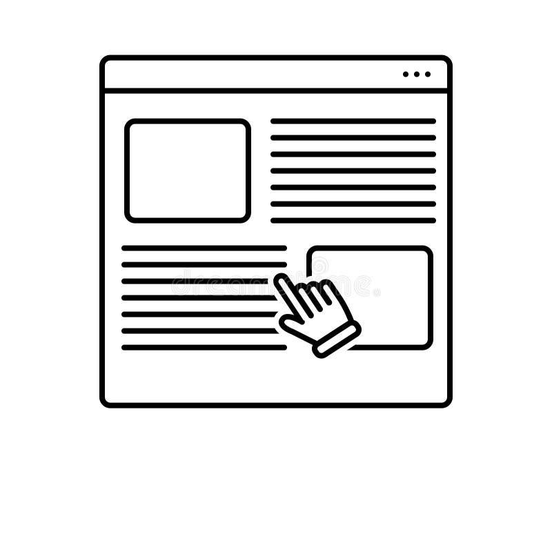 用户调查,名誉和网上的黑线象 皇族释放例证