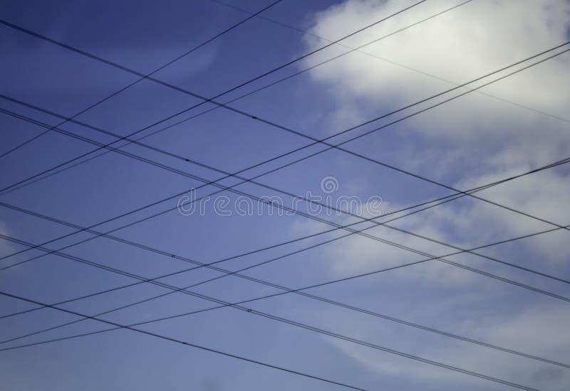 电塔天空 库存图片