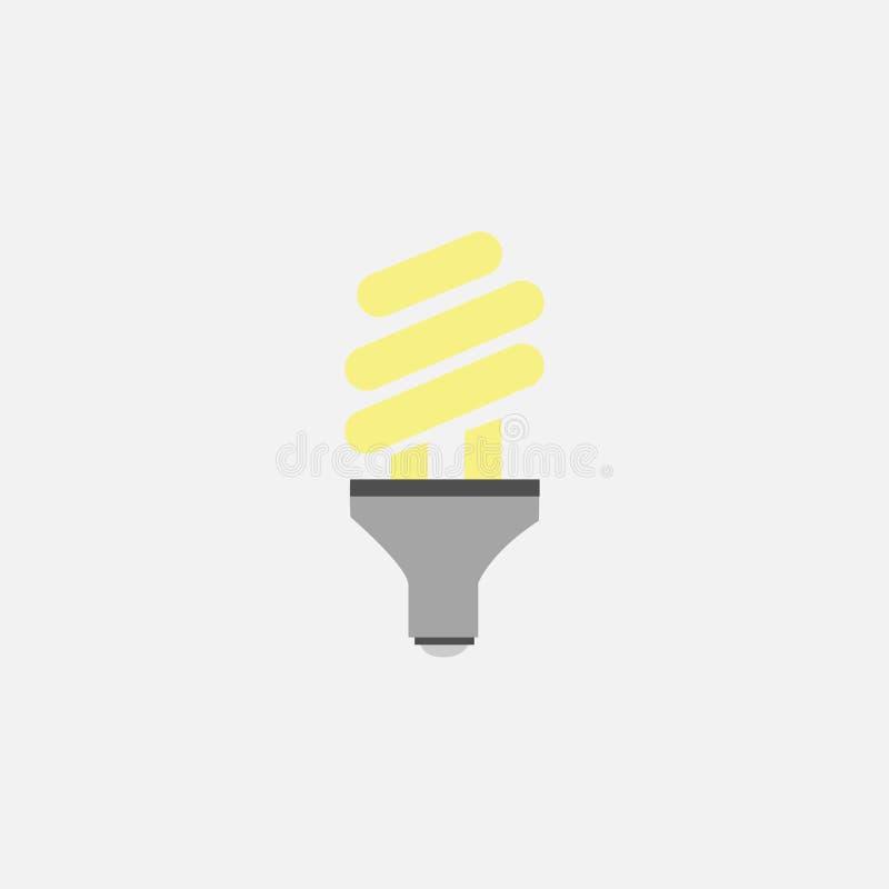 电灯泡概念想法例证光向量 电 也corel凹道例证向量 10 eps 库存例证