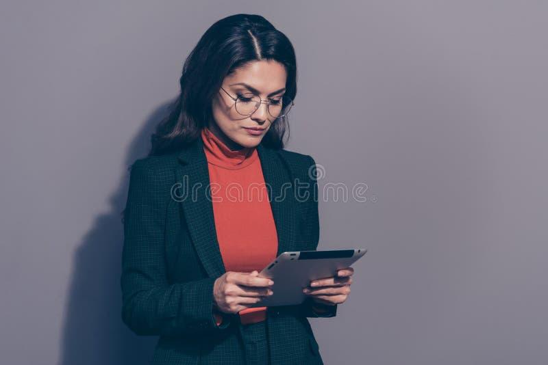 画象她她好的典雅的别致优等的可爱的讨人喜欢的attr 免版税库存图片