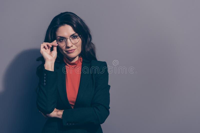 画象她她好的有吸引力的典雅的优等的别致的重视的c 免版税库存照片