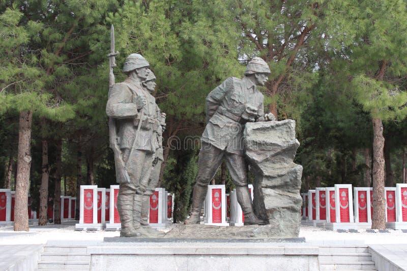 Gelibolu martyrdom moment. Çanakkale Gelibolu martyrdom memorial moment royalty free stock image