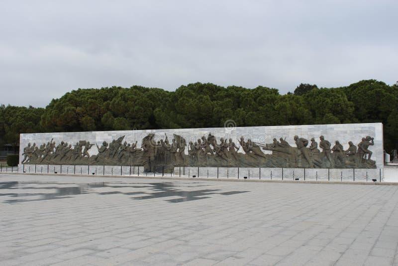 Gelibolu martyrdom moment. Çanakkale Gelibolu martyrdom memorial moment stock photo