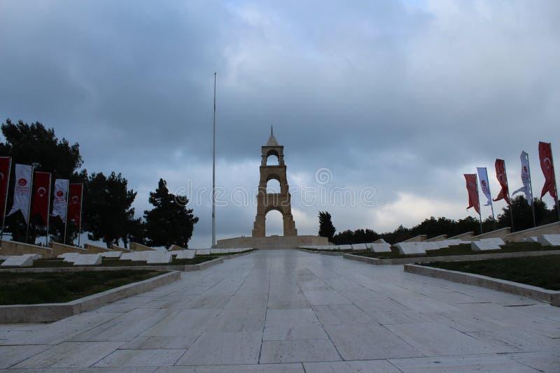57 Regiment of Cemeteries and Monument. Çanakkale Gelibolu 57 Regiment of Cemeteries and Monument royalty free stock image