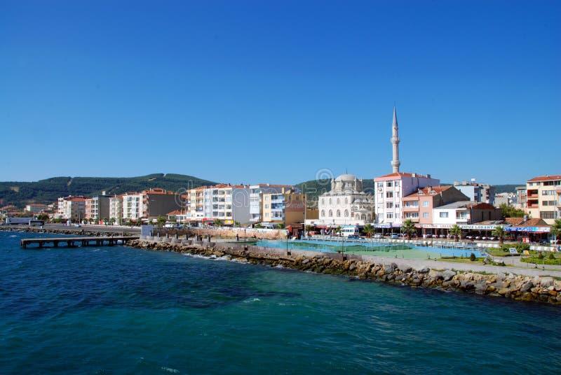 çanakkale nei Dardanelles immagini stock libere da diritti