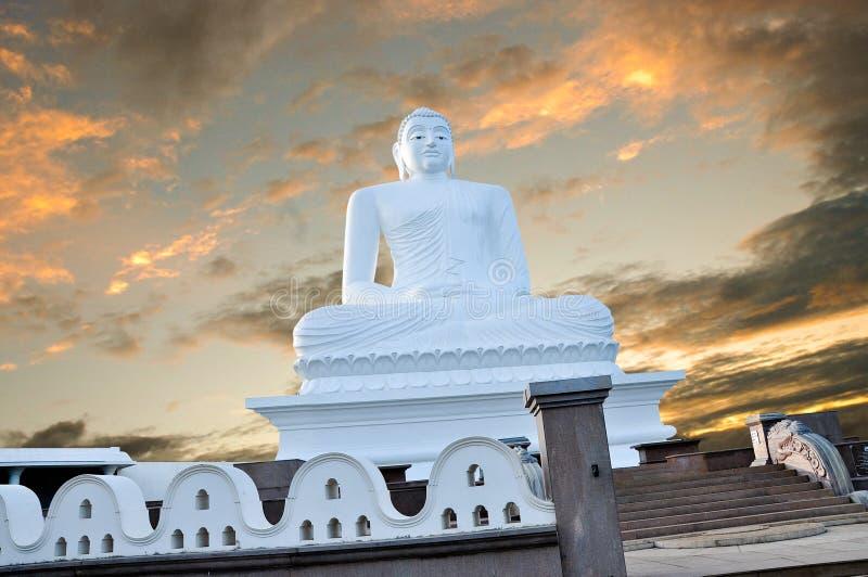 菩萨阁下在Mahiyangana斯里兰卡 免版税库存图片