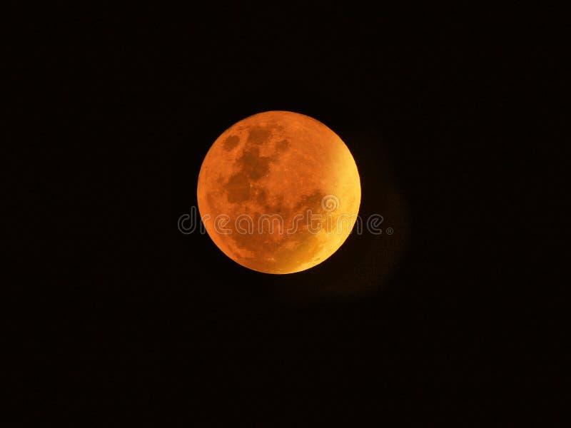 血液月亮 图库摄影