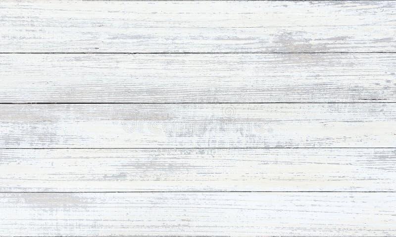 被洗涤的木头纹理,白色木抽象背景 免版税库存照片