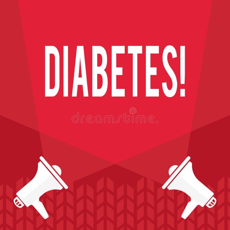 词文字文本糖尿病 健康状况的企业概念诊断用incresed高级糖 皇族释放例证