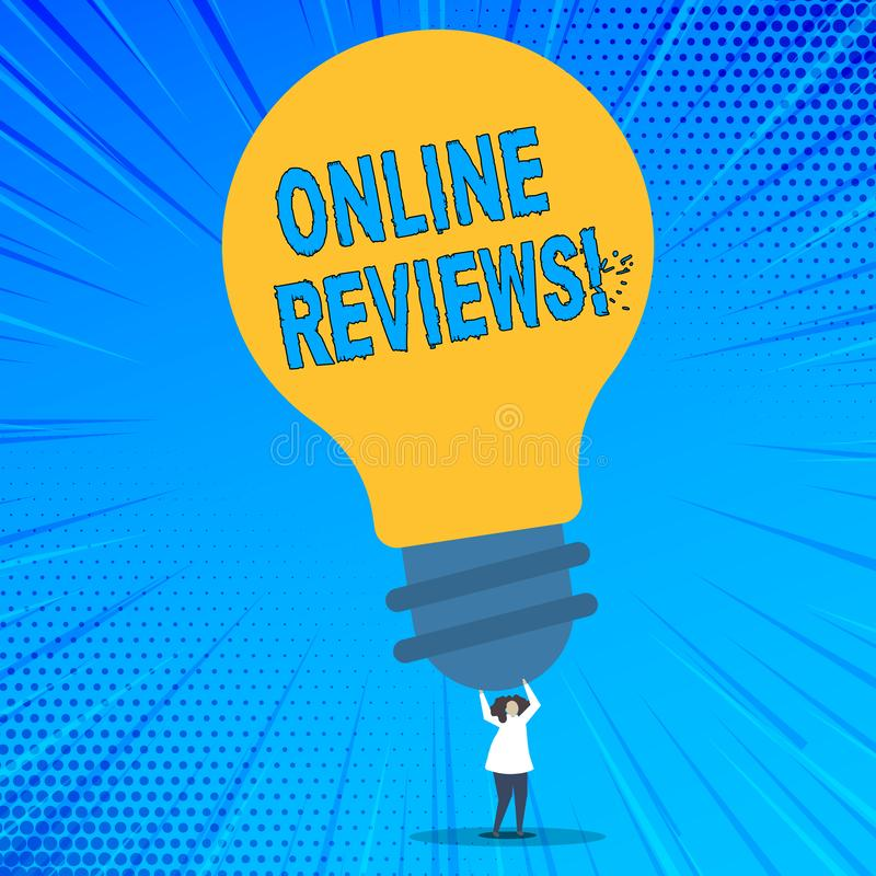 词文字文本网上回顾 互联网评估用户额定值观点满意的企业概念 皇族释放例证