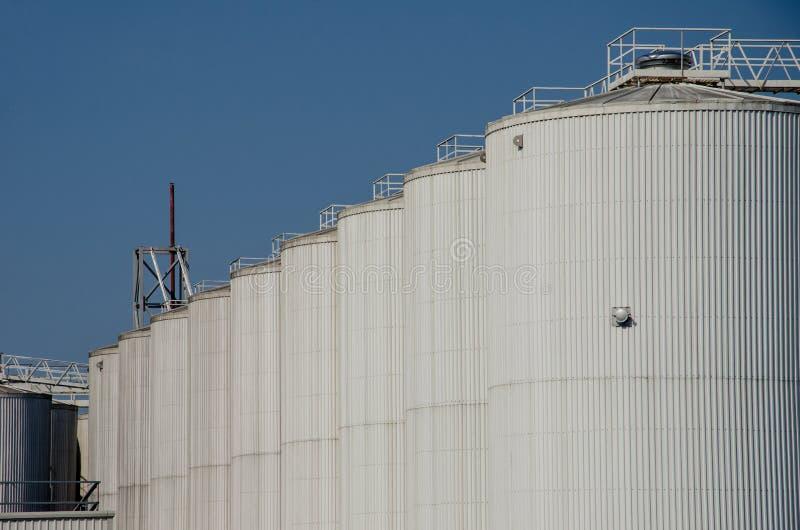 谷物仓库是耕地设施复合体被设计储备或存放五谷 图库摄影