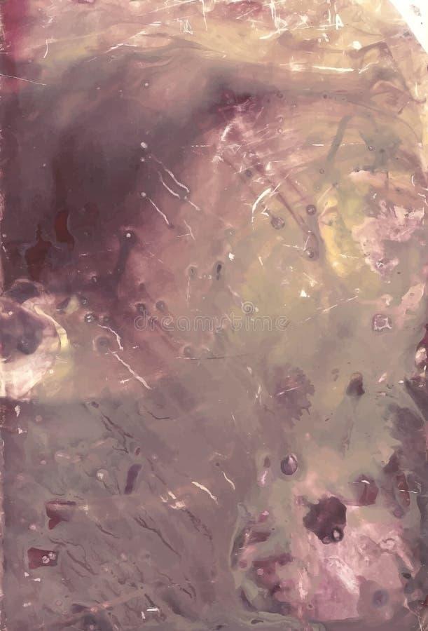 象背景的老被抓的大理石 免版税库存照片