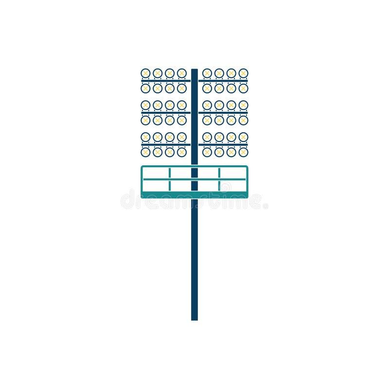 足球轻的帆柱象 皇族释放例证