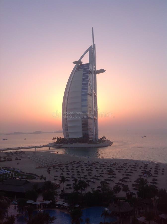 迪拜 旅馆'阿拉伯塔' 库存照片