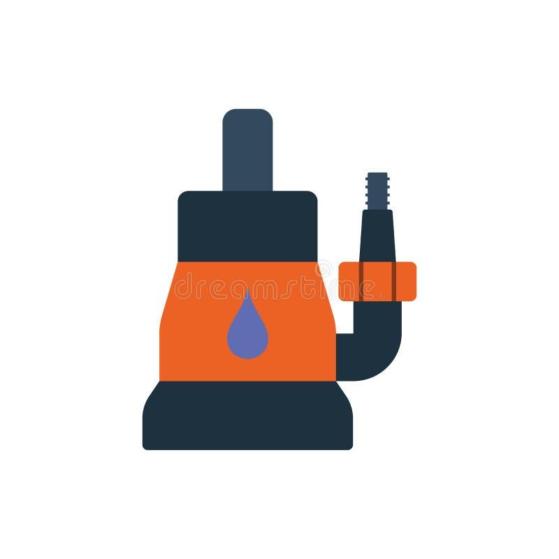 能潜航水泵象 库存例证
