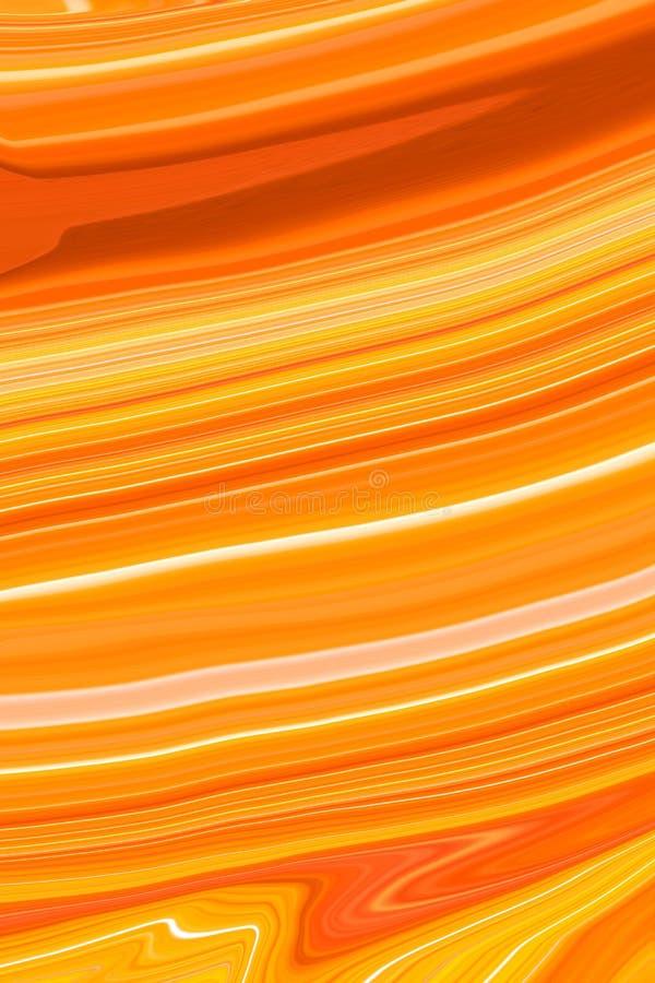 背景的摘要橙色大理石纹理 库存图片