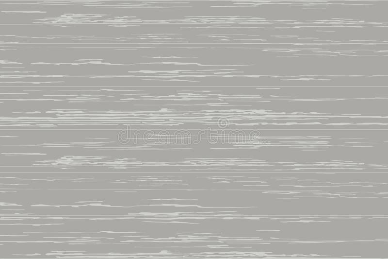 背景的灰色木板条纹理 向量 皇族释放例证