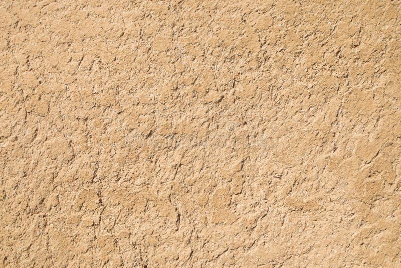 背景黏土理想纹理 黏土和秸杆墙壁 黏土和秸杆膏药 免版税库存图片